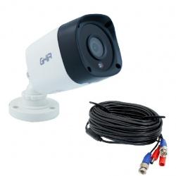 Ghia Cámara CCTV Bullet IR para Exteriores GCV-011, Alámbrico, 1920 x 1080 Pixeles, Día/Noche