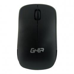 Mouse Ghia GM400NG, RF Inalámbrico, 1000DPI, Negro