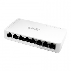 Switch Ghia Gigabit Ethernet GNW-S4, 8 Puertos 10/100/1000Mbps - No Administrable