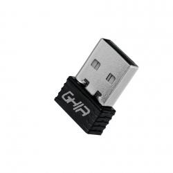 Ghia Adaptador de Red USB GNW-U1, Inalámbrico, 2.4GHz
