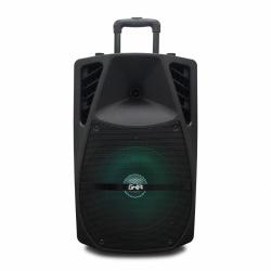 Ghia Bafle GSP-12B, Bluetooth, Alámbrico, 9700W, USB, Negro