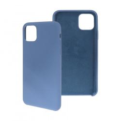 Ghia Funda de Silicona con Mica AC-8904 para iPhone 11, Azul