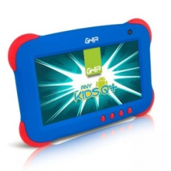 Tablet Ghia ANY Kids Q+ 7'', 8GB, 1024 x 600 Pixeles, Android 5.1, WLAN, Azul/Rojo
