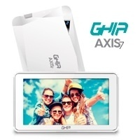 Tablet Ghia AXIS7 7'', 8GB, 1024 x 600 Pixeles, Android 7.0, Bluetooth 4.0, WLAN, Blanco