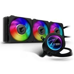 AORUS LIQUID COOLER 360 Enfriamiento Liquido para CPU, 3x 120mm, 2500RPM