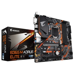 Tarjeta Madre AORUS Micro ATX B365 M ELITE, S-1151, Intel B365, HDMI, 64GB DDR4 para Intel