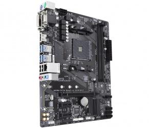 Tarjeta Madre Gigabyte Micro ATX GA-A320M-S2H V2, S-AM4, AMD B350, HDMI, 32GB DDR4 para AMD