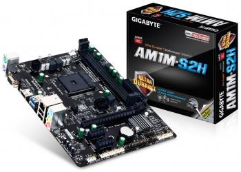 Tarjeta Madre Gigabyte micro ATX AM1M-S2H, S-AM1, HDMI, 32GB DDR3, para AMD