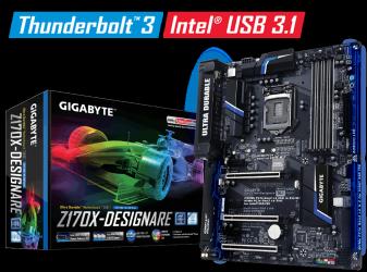 Tarjeta Madre Gigabyte ATX GA-Z170X-Designare, S-1151, Intel Z170, HDMI, 64GB DDR4, para Intel ― Requiere Actualización de BIOS para trabajar con Procesadores de 7ma Generación