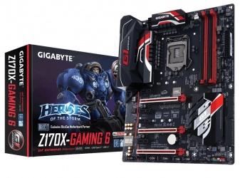 Tarjeta Madre Gigabyte ATX GA-Z170X-GAMING 6, S-1151, Intel Z170, HDMI, 64GB DDR4, para Intel