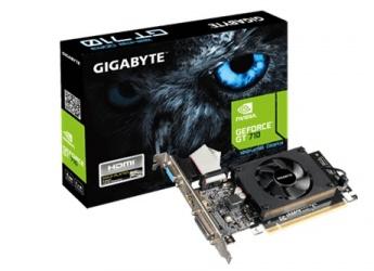 Tarjeta de Video Gigabyte NVIDIA GeForce GT 710 rev 2.0, 1GB 64-bit DDR3, PCI Express 2.0