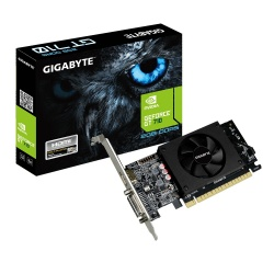 Tarjeta de Video Gigabyte NVIDIA GeForce GT 710, 2GB 64-bit GDDR5, PCI Express x8 2.0