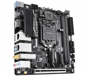 Tarjeta de Madre Gigabyte Mini ITX H370N WIFI, S-1151, Intel H370, HDMI, 32GB DDR4 para Intel