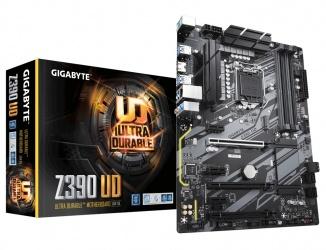 Tarjeta Madre Gigabyte ATX Z390 UD, S-1151, Intel Z390, HDMI, 64GB DDR4 para Intel ― Compatibles solo con 8va y/o  9va Generación (Revisar modelos aplicables)