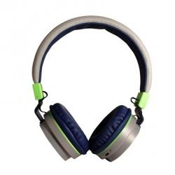 Ginga Audífonos GI16ADJ02BT, Bluetooth, Inalámbrico, Gris
