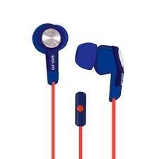 Ginga Audífonos con Micrófono GI16AUD01HF, Alámbrico, 3.5mm, Azul