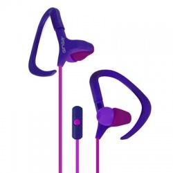 Ginga Audífonos con Micrófono GI16AUD02HF, Alámbrico, 3.5mm, Rosa/Púrpura