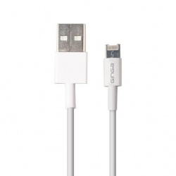 Ginga Cable USB A Macho - Lightning Macho, 1 Metro, Blanco