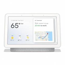 Google Hub NestHub, Inalámbrico, WiFi, Gris/Blanco