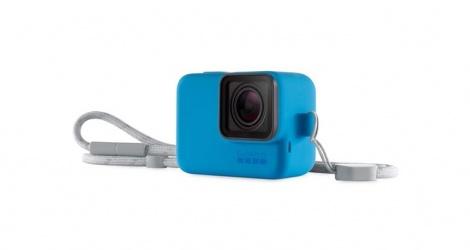 GoPro Funda de Silicon con Correa, Azul