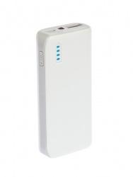 Cargador Portátil Grixx Power Bank GROEXTBP40W01, 4400mAh, Blanco