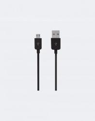 Grixx Cable USB A Macho - Micro USB B Macho, 1 Metro, Negro