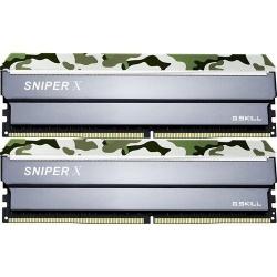 Kit Memoria RAM G.Skill Sniper X Classic Camo DDR4, 2400MHz, 16GB (2 x 8GB), Non-ECC, CL17