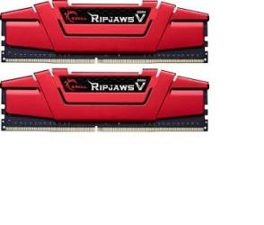 Kit Memoria RAM G.Skill DDR4 RipjawsV Red, 2800MHz, 16GB (2 x 8GB)