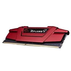 Kit Memoria RAM G.Skill DDR4 RipjawsV Red, 2800MHz, 32GB (2 x 16GB), Non-ECC, CL15