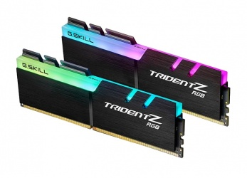 Kit Memoria RAM G.Skill Trident Z RGB DDR4, 3200MHz, 16GB (2 x 8GB), Non-ECC, CL16, XMP, 1.35v