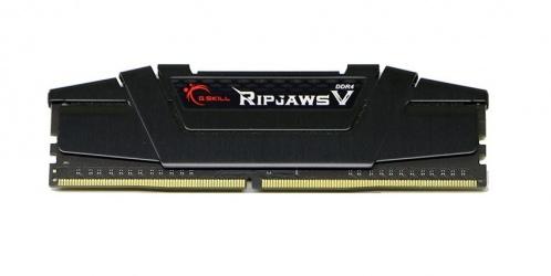 Kit Memoria RAM G.Skill DDR4 RipjawsV Negro, 3200MHz, 16GB (2 x 8GB), Non-ECC