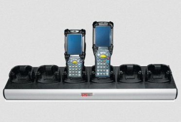 GTS Batteries Cargador para 6 Baterias HCH-9060-CHG, para MC9000 / MC9100