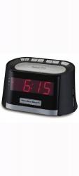 Hamilton Beach Radio Despertador HCR410, AM/FM, Negro