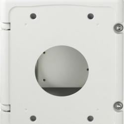 Hanwha Caja de Conexión para Domos Wisenet, Marfil CompatibilidadSBP-300