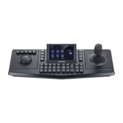 Samsung Control para Cámaras PTZ con Pantalla Touch y Joystick, Alámbrico, USB, Negro