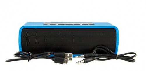 Havit Bocina Portátil HV-M8, Bluetooth, Inalámbrico, Negro/Azul