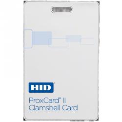 HID Identity Tarjeta de Proximidad Clamshell ProxCard II 1326, 5.4 x 8.6cm, Blanco, para Lectores HID - Precio por Pieza Se vende en Paquetes de 100 Piezas