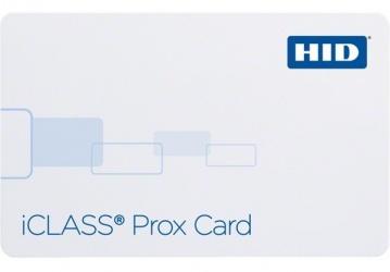 HID Tarjeta iCLASS Prox, 8.5 x 5.4cm, Blanco