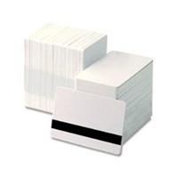 HID Fargo Tarjeta de Banda Magnética UltraCard Premium, 8.5 x 5.4cm, Blanco