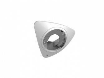 Hikvision Montaje de Esquina para Cámara Panorámica, Blanco