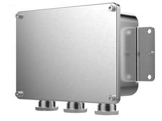 Hikvision Caja de Conexiones Anticorrosiva para Cámara Domo/Bullet/PTZ, Acero Inoxidable