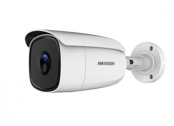 Hikvision Cámara CCTV Bullet Turbo HD 4K IR para Interiores DS-2CE18U8T-IT3, Alámrbico, 3840 x 2160 Pixeles, Día/Noche