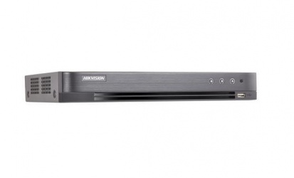 Hikvision DVR de 4 Canales DS-7204HTHI-K1 para 1 Disco Duro, max. 8TB, 1x USB 2.0, 1x RJ-45, 1x DHMI