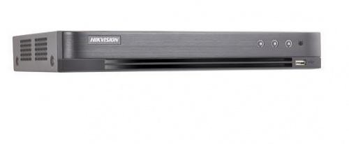 Hikvision DVR de 8 Canales DS-7208HQHI-K1 para 1 Disco Duro, max. 6TB, 1x RJ-45, 2x USB 2.0