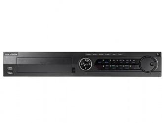 Hikvision DVR de 8 Canales DS-7308HUHI-F4/N para 4 Discos Duros, 2x USB 2.0, 2x RJ-45