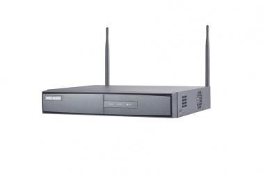 Hikvision NVR de 8 Canales DS-7608NI-K1/W para 1 Disco Duro, máx. 6TB, 2x USB 2.0, 1x RJ-45