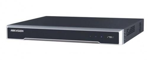 Hikvision NVR de de 16 Canales DS-7616NI-K2/16P para 2 Disco Duros, max, 6TB, 1x USB 2.0, 1x RJ-45