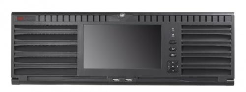 Hikvision NVR de 128 Canales DS-96128NI-I24 para 24 Discos Duros, 1x USB 2.0, 4x RJ-45, Negro