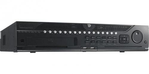 Hikvision NVR de 32 Canales DS-9632NI-I8 para 8 Discos Duros, max. 48TB, 2x USB 2.0, 2x RJ-45
