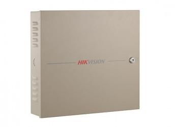 Hikvision Panel Controlador de Acceso para 4 Puertas DS-K2604, 100.000 Tarjetas, 300.000 Eventos, Gris